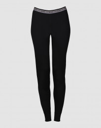 Leggings für Damen - exclusive Merinowolle schwarz