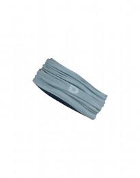 Schlauchschal aus exklusiver Merinowolle mineralblau