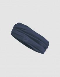 Schlauchschal für Damen aus exklusiver Merinowolle dunkelblau