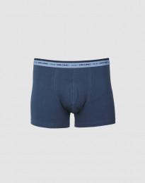 Herren Boxershorts - exklusive Merinowolle dunkelblau