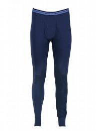Lange Unterhose für Herren - 100% Wolle dunkelblau