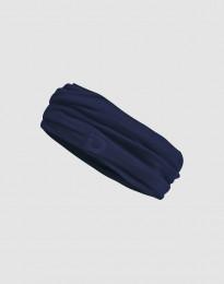 Schlauchschal für Herren aus exklusiver Merinowolle dunkelblau