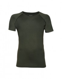 Exclusives Merino Shirt Herren grün