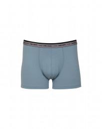 Herren Boxershorts - exklusive Merinowolle mineralblau