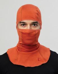 Herren Schlupfmütze - exklusive Bio Merinowolle Orange