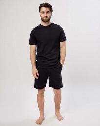 Baumwoll Shorts für Herren schwarz