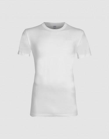 Baumwoll T-Shirt für Herren weiß