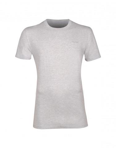 Baumwoll T-Shirt für Herren grau