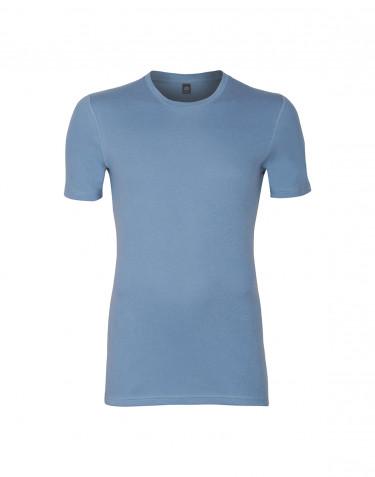 Premium Classic - Baumwoll T-Shirt für Herren blau