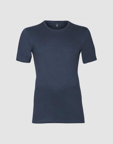 Premium Classic - Baumwoll T-Shirt für Herren dunkelblau