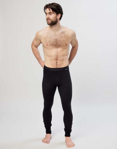 Premium Classic - Baumwoll Leggings mit Eingriff für Herren schwarz