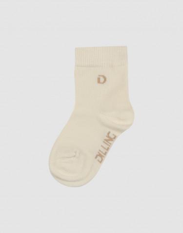 Kinder Socken Bio Baumwolle Natur