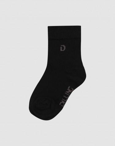 Kinder Socken Bio Baumwolle Schwarz
