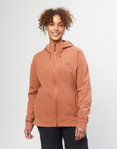 Damen Softshell Jacke - Kupferbraun