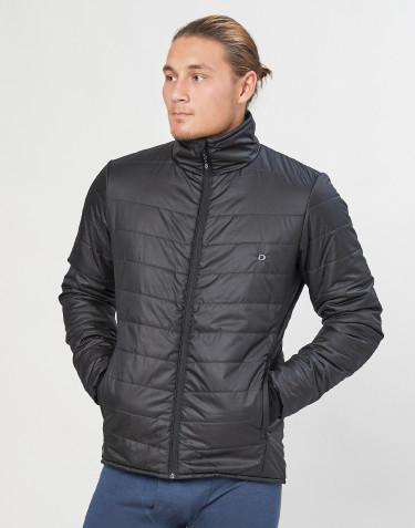 Outdoorjacke Herren - recyceltes Polyester/ Merinowolle schwarz