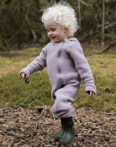 Anzug aus Wollfleece für Babys