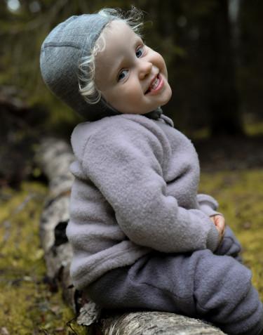 Jacke aus Wollfleece für Babys