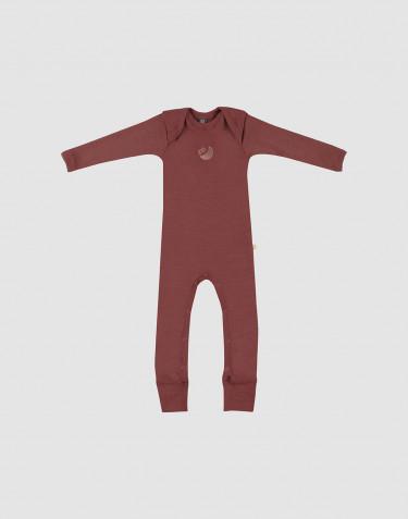 Merino Overall für Babys Rouge