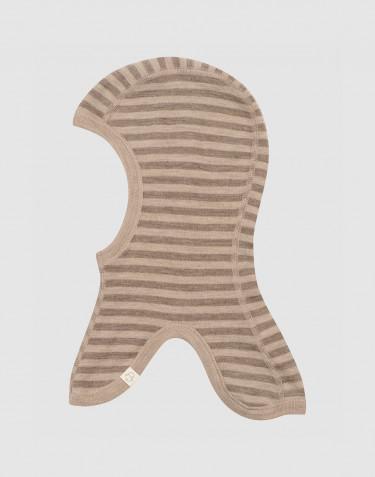 Baby und Kinder Schlupfmütze aus Merinowolle