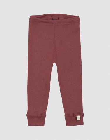 Merino Leggings für Babys Rouge