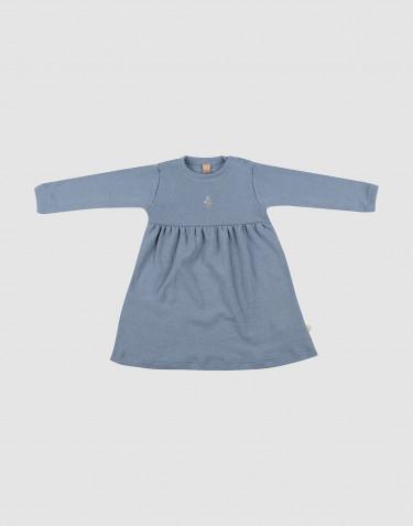 Baby Merinokleid Blau