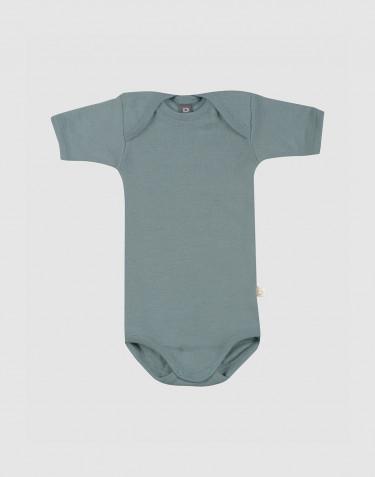 Kurzärmliger Body aus Merinowolle für Babys