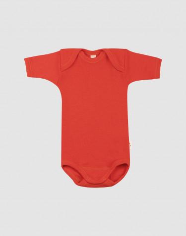 Kurzärmliger Body für Babys aus Merinowolle