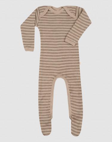 Schlafanzug für Babys aus Merinowolle