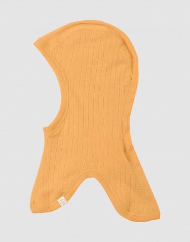 Schlupfmütze in Rippstrick Gelb