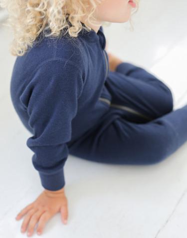 Baby Anzug aus Wollfrottee