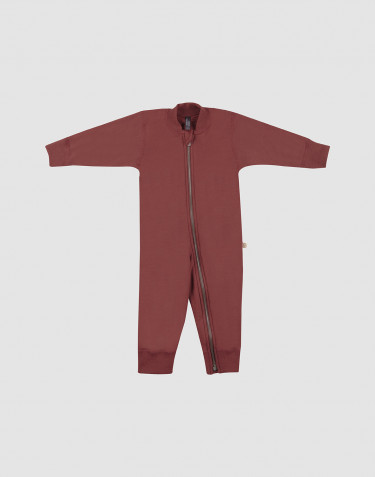 Baby Overall aus Wollfrottee Rouge