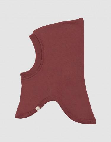 Schlupfmütze für Babys aus Wollfrottee Rouge