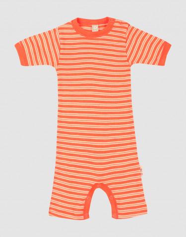 Sommer Body aus Merinowolle/ Seide für Babys