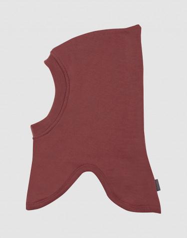 Schlupfmütze aus Wollfrottee Rouge