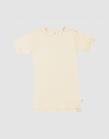 T-Shirt für Kinder aus Merinowolle/Seide