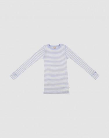 Langarmshirt für Kinder aus Merinowolle/ Seide