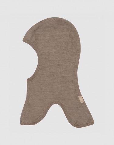 Schlupfmütze aus Merinowolle für Kinder