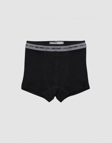 Jungen Unterhose - BIO Merinowolle schwarz