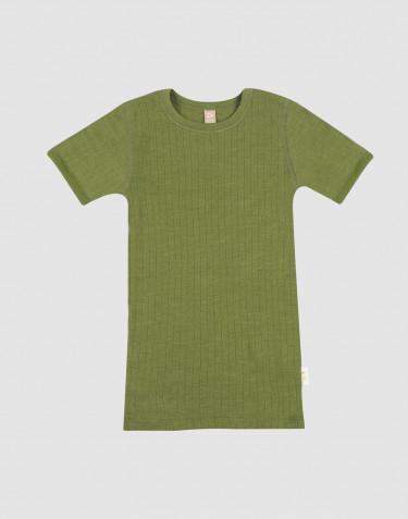 T-shirt aus Merinowolle für Kinder