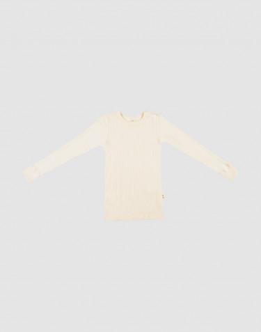 Langarmshirt aus Merinowolle für Kinder