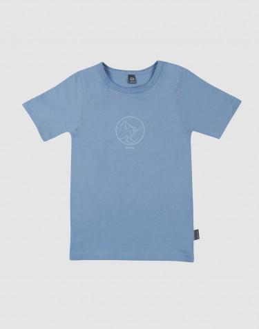 Kinder T-Shirt mit Print blau