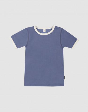 Kinder T-Shirt aus natürlicher Baumwolle Blassblau