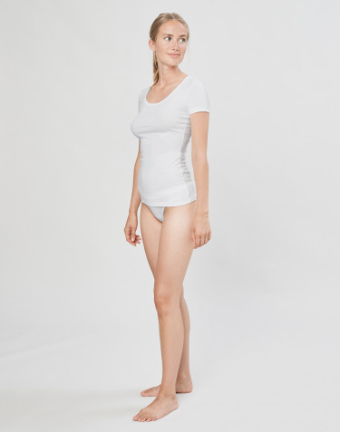 DILLING Baumwoll Mini Panties für Damen weiß