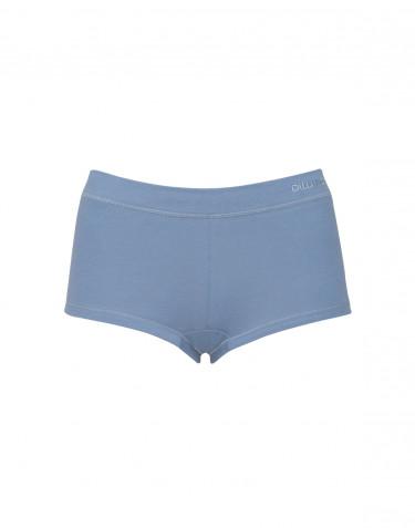 Damen Baumwoll Hipster blau