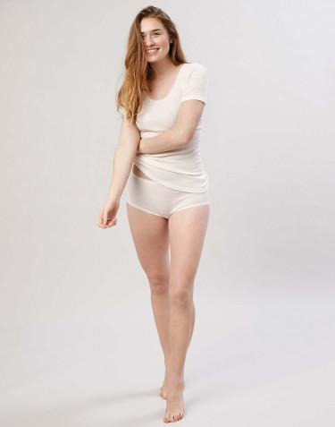 Merino Slip für Damen natur