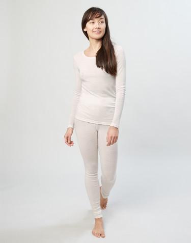 Merino Leggings Damen natur