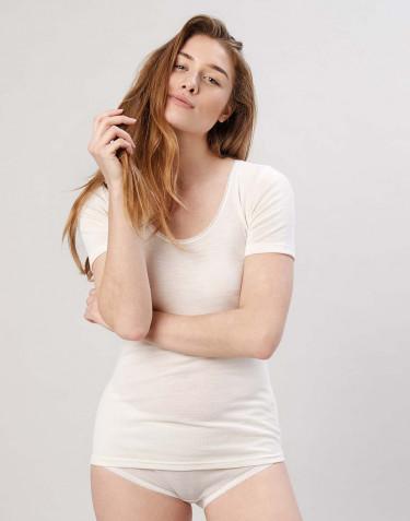 Merino T-Shirt für Damen Natur