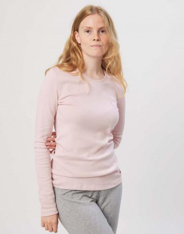 Damen Nachtshirt aus Baumwolle rosa