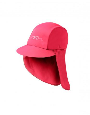 Sonnenhut für Kinder mit UV-Schutz UPF 50+ pink