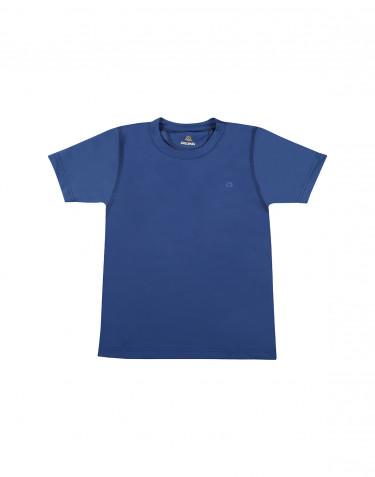 Kinder T-Shirt mit UV-Schutz UPF 50+ blau